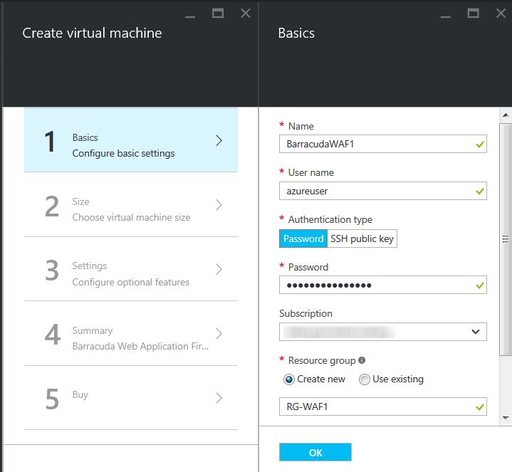 Azure Resource Managerモデルを使用したBarracuda CloudGen WAFの導入とプロビジョニング のページ写真 4