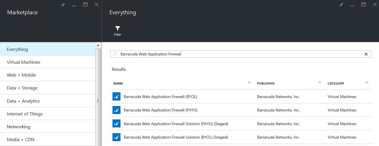 Azure Resource Managerモデルを使用したBarracuda CloudGen WAFの導入とプロビジョニング のページ写真 2