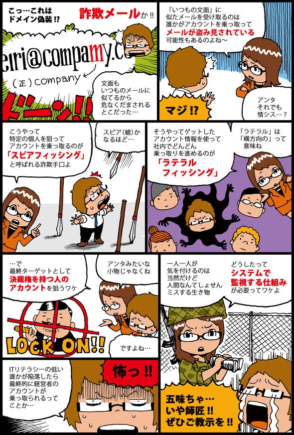 Office365伝道師五味ちゃん「ひとごとではない情報流出、ITリテラシーの個人差が狙われている」 のページ写真 2