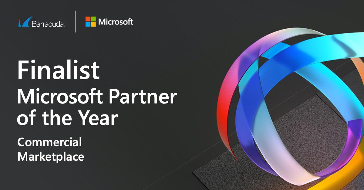 バラクーダが2020 Microsoft Partner of the Year AwardsのCommercial Marketplace部門のファイナリストにノミネート のページ写真 3
